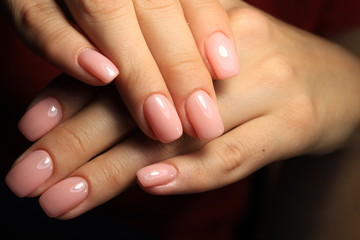 The beauty of the natural nails.