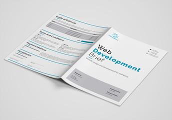 Web Development Brief Layout