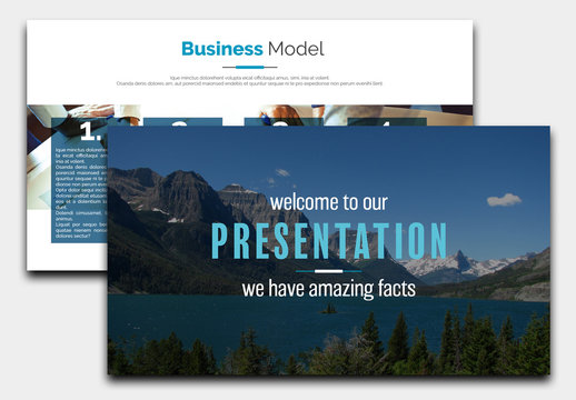 Business Presentation Layout