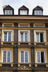 Windows of Building in Stare Miasto, Warsaw, Poland