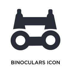 binoculars icon isolated on white background. Modern and editable binoculars icon. Simple icons vector illustration.