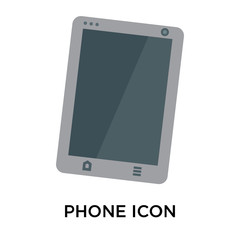phone icon on white background. Modern icons vector illustration. Trendy phone icons