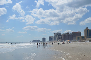 Atlantic city coastline