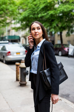 Businesswoman in NY