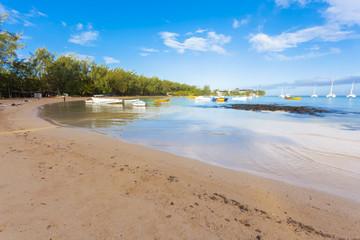 plage de Bain-Boeuf, île Maurice