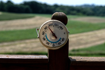 Heat wave in Appalachia