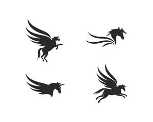 Pegasus Logo Template