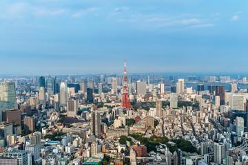 東京港区 空と都市風景2
