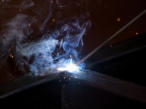 High-temperature electic welding