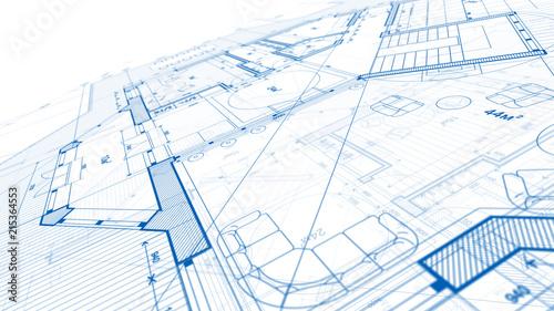 Architecture design blueprint plan illustration of a plan modern architecture design blueprint plan illustration of a plan modern residential building technology malvernweather Choice Image
