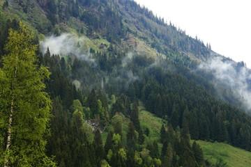 Grossglockner High Alpine Road (Grossglockner Hochalpenstrasse) mountain landscape, Austria