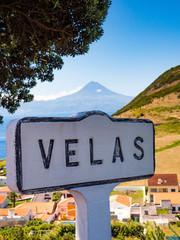 Mount Pico from Velas, Sao Jorge Island