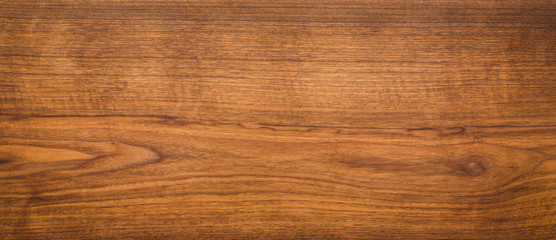 Walnut wood texture. Super long walnut planks texture background.