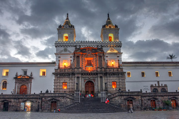 San Francisco de Quito, Ecuador