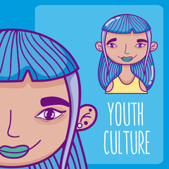 Youth culture avatar