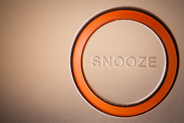 Snooze button detail