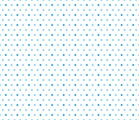 Vector Background # Medium Polka Dot Pattern, Light Blue