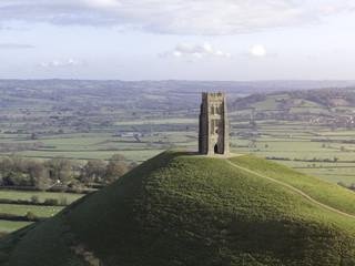 Glastonbury Tor Monument in England