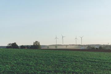 Landwirtschaft Windrad
