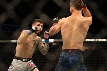 MMA: UFC Fight Night-Calgary-Ortiz vs Nicolau