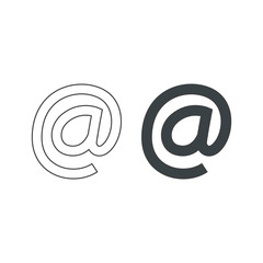 Email symbol Vector Icon