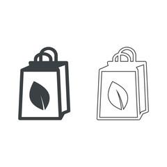 Bag Vector icon