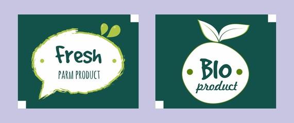 pack of organic food logo