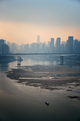 Chongqing Urban buildings bridge