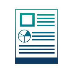 financial document report pie chart