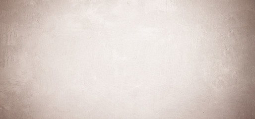 Fotobehang - Blank brown grunge cement wall texture background, banner, interior design background, banner