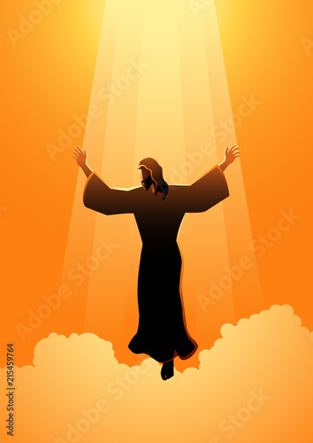 The Ascension Day Of Jesus Christ Stock Image And Royalty Free
