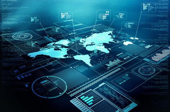 Internet information technology display