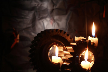 Candles On Gears