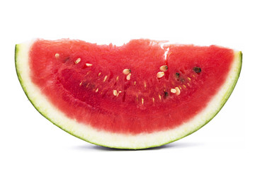 slices of tasty watermelon isolated