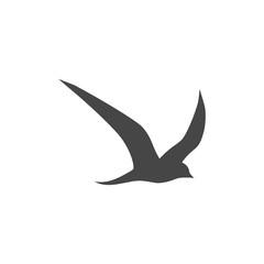 Vector Logo birds in flight