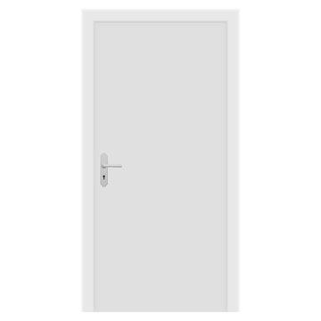 White door. Interior design