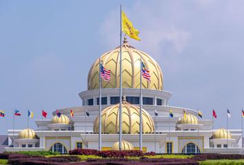 Canvas Prints Kuala Lumpur Malaysian National Palace building in Kuala Lumpur