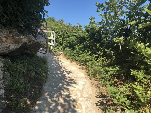 Sentiero baia di Peschici