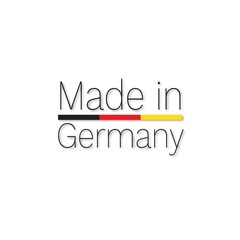 made in germany, label