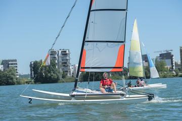 man sailing