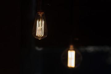 Luxury beautiful retro edison light lamp decor