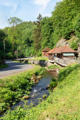 Die Truse im Trusetal am Trusetaler Wasserfall, Thüringen