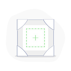 Frame for pictures, to drop, add and share a photo, an image. Share images, data exchange icon concept, file transfer service