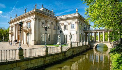 Royal Palace on the Water in Lazienki Park, Warsaw