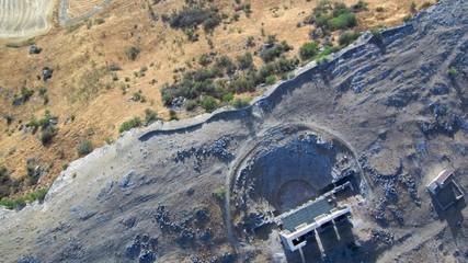Ruinas romanas de Acinipo en Ronda. Malaga,Andalucia.España