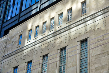 Wall Murals Toronto Toronto Stock Exchange entrance in Toronto