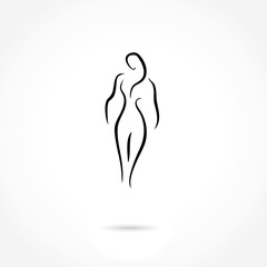 woman icon vector illustration