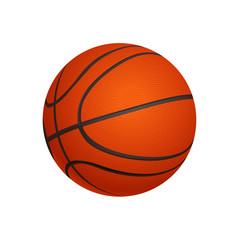 basketball ball isolated