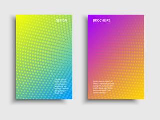 Vibrant gradient tech