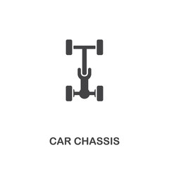 Car Chassis creative icon. Simple element illustration. Car Chassis concept symbol design from car parts collection. Can be used for web, mobile, web design, apps, software, print.